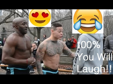 Funniest Street Performance!! | NYC-Central Park