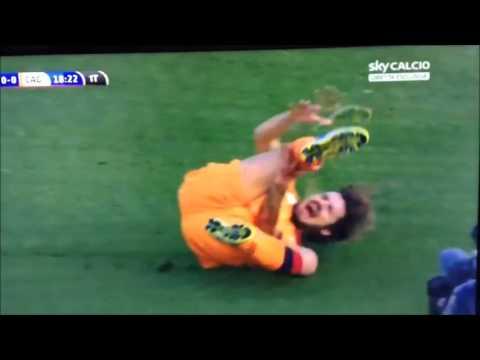 28/11/2015 - Brescia-Cagliari 4-0: brutto infortunio per Daniele Dessena
