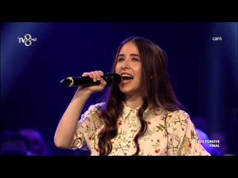 Türkan Kürşad   Rolling In The Deep   O Ses Türkiye FİNAL Performansı