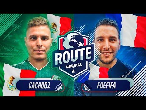 ROUTE MUNDIAL   JORNADA 2   CACHO VS FDEFIFA
