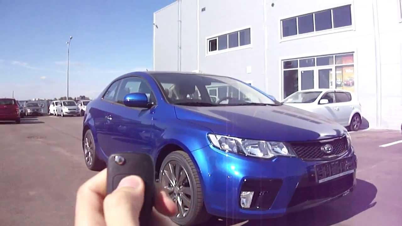 Kia Forte: Starting the engine