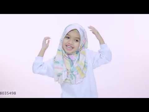 Kids Hijab Tutorial - Hana Hijab by Aira Kamilia