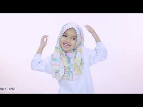 Kids Hijab Tutorial - Hana Hijab by Aira Kamilia