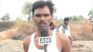 Low-caste man digs up well after being denied water in drought-hit western India