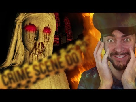 TRY NOT TO GET SCARED... VR HAS ME CRYING 😭- The Exorcist: Legion VR (Funny Moments/Reaction)