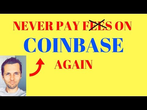 Never Pay Fees With Coinbase Again - Trick To Avoid Transaction Fees