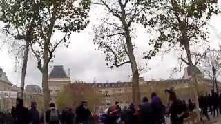 Gaze lacrimogene și violențe fără discernământ la Paris 29.11.15