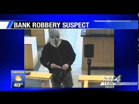 Spokane Police look to public to identify bank robbery suspect