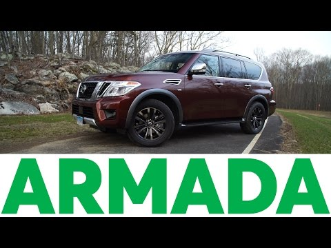 2017 Nissan Armada Quick Drive   Consumer Reports