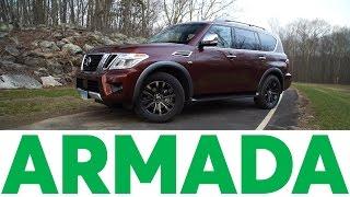 2017 Nissan Armada Quick Drive | Consumer Reports