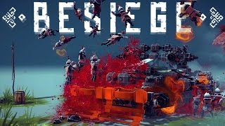Besiege Best Creations - 6 Track Tank, Peasant Segway, Robotic Dog & More!