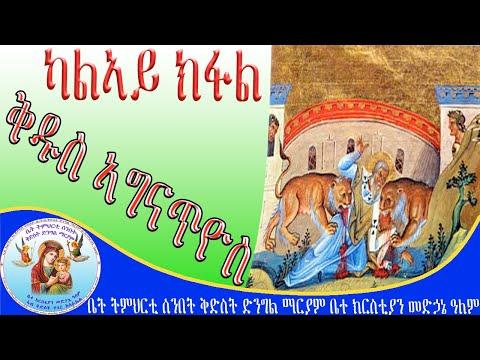 ኣቡነ ኣግናጥዮስ 2ይ ክፋል Eritrean Orthodox Tewahdo Church New Sbket 2020