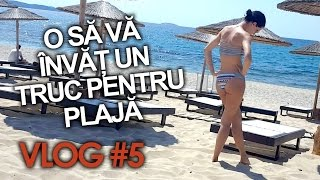 O SA VA INVAT UN TRUC PENTRU PLAJA! (Vlog #5)