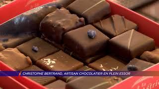 Yvelines | Christophe Bertrand, artisan chocolatier en plein essor