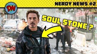 Iron Man New Look, Henry Cavill died, Shazam, Captain Marvel | Nerdy News #2