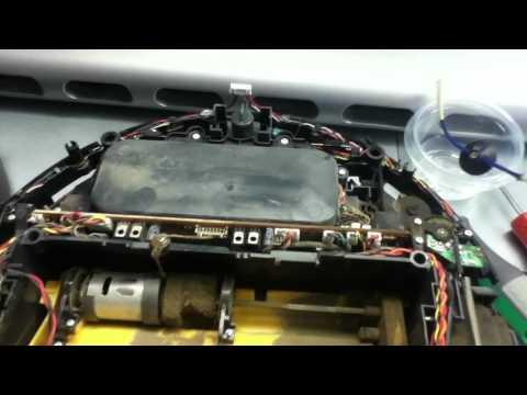 Inside the Roomba Dirt Dog robot vacuum