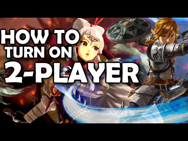 How To Turn On 2 Player Zelda Age Of Calamity Hyrule Warriors Youtube