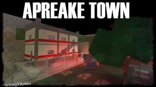Apreake Town Map Build - ROBLOX Studio