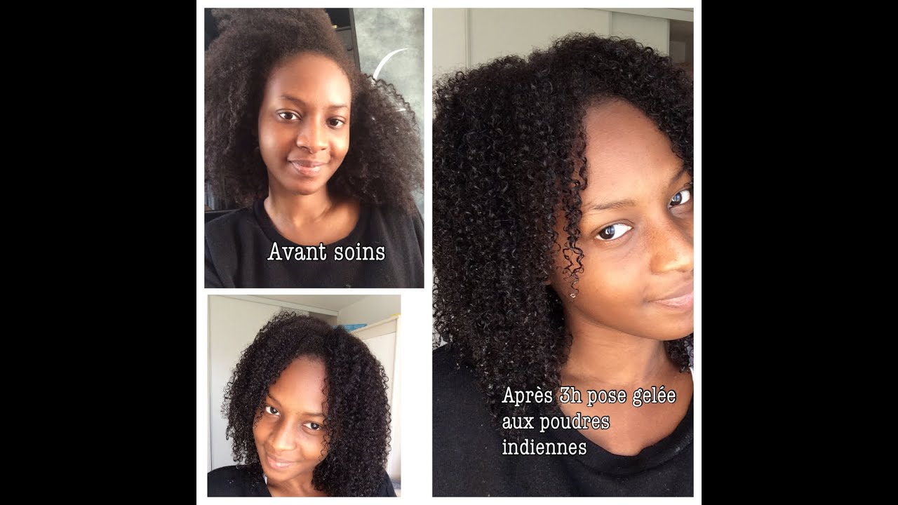 Poudre indienne pour faire pousser les cheveux