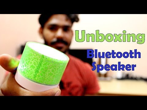 Padraig Mini Bluetooth Speaker With LED Lamp Unboxing | In Hindi By Kapil Jangid