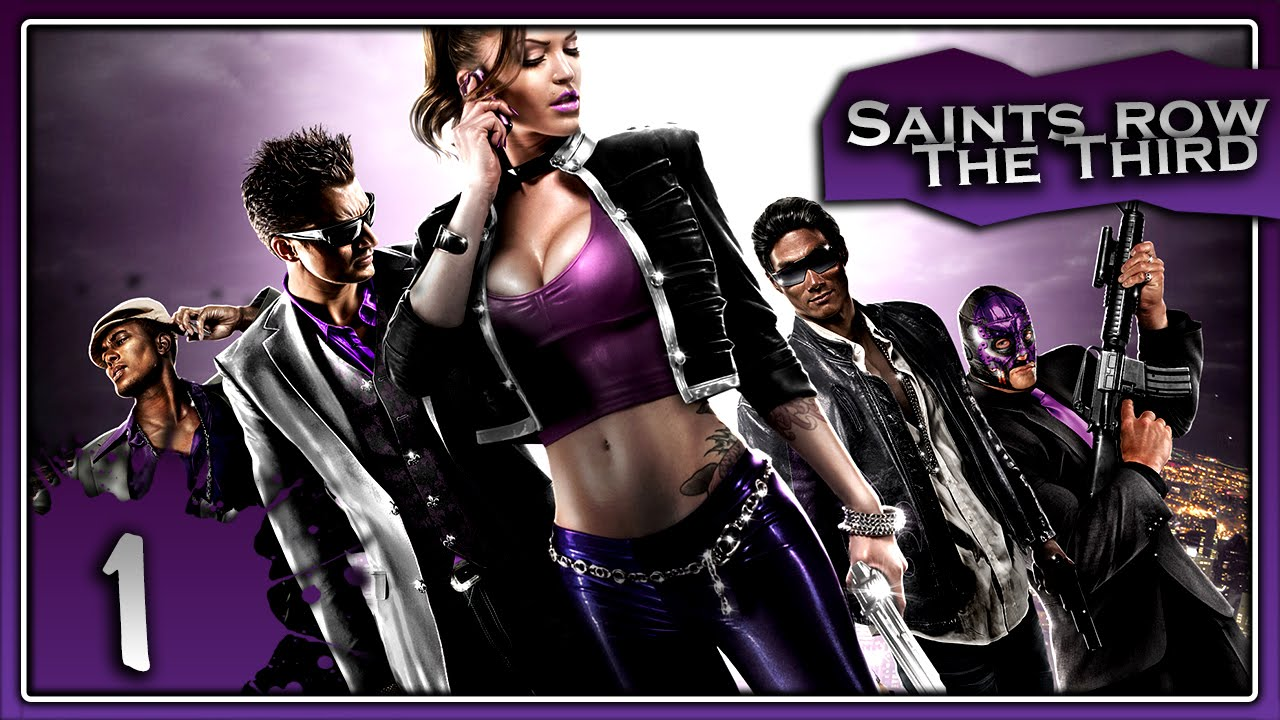 Video Game/Saints Row: The Third Youtube Channel Cover
