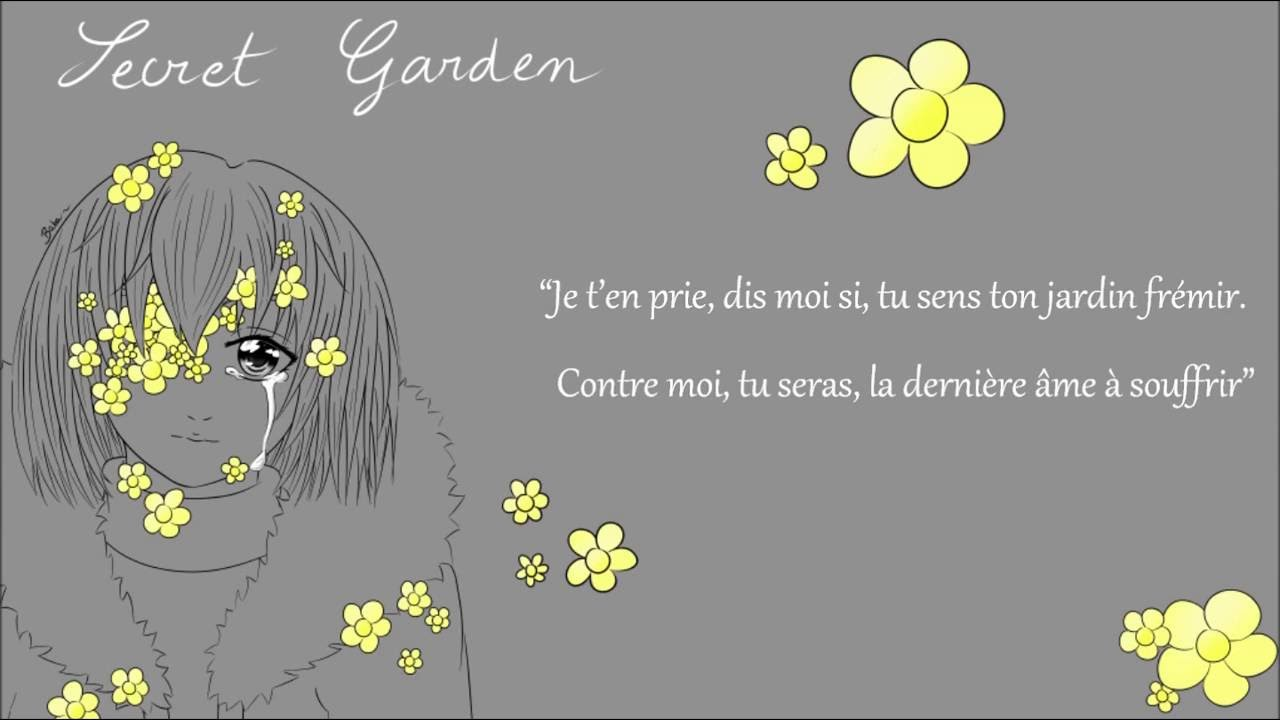 french cover secret garden flowerfell lyrics plumepox youtube