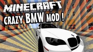 MINECRAFT MODY - CRAZY BMW ! (SUPER WYPASIONE BMW :O ! ) [1.4.7]