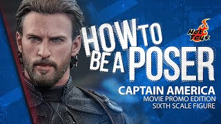 Captain America Movie Promo Sixth Scale Figure by Hot Toys - How to be