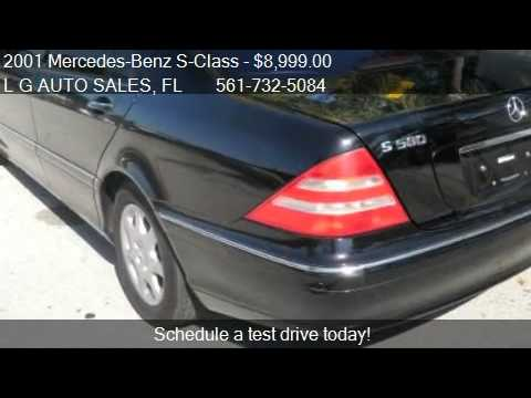 2001 mercedes benz s class s500 for sale in boynton. Black Bedroom Furniture Sets. Home Design Ideas