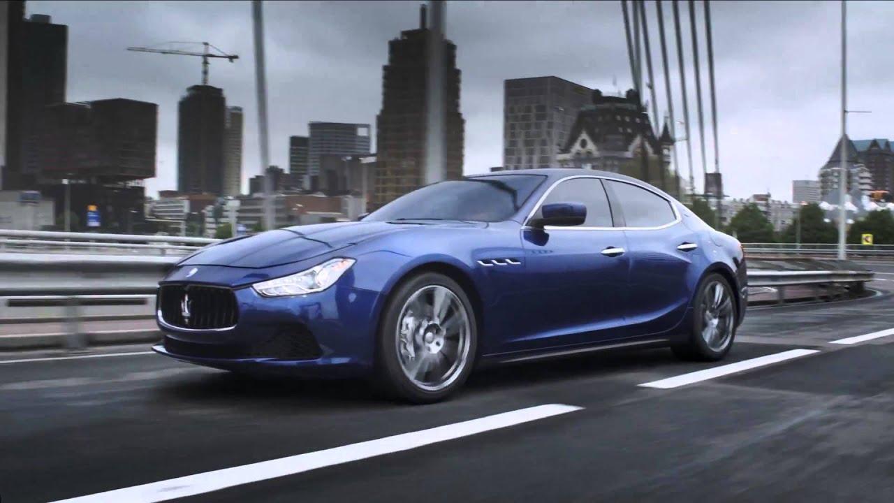 Introducing the Maserati Ghibli - YouTube