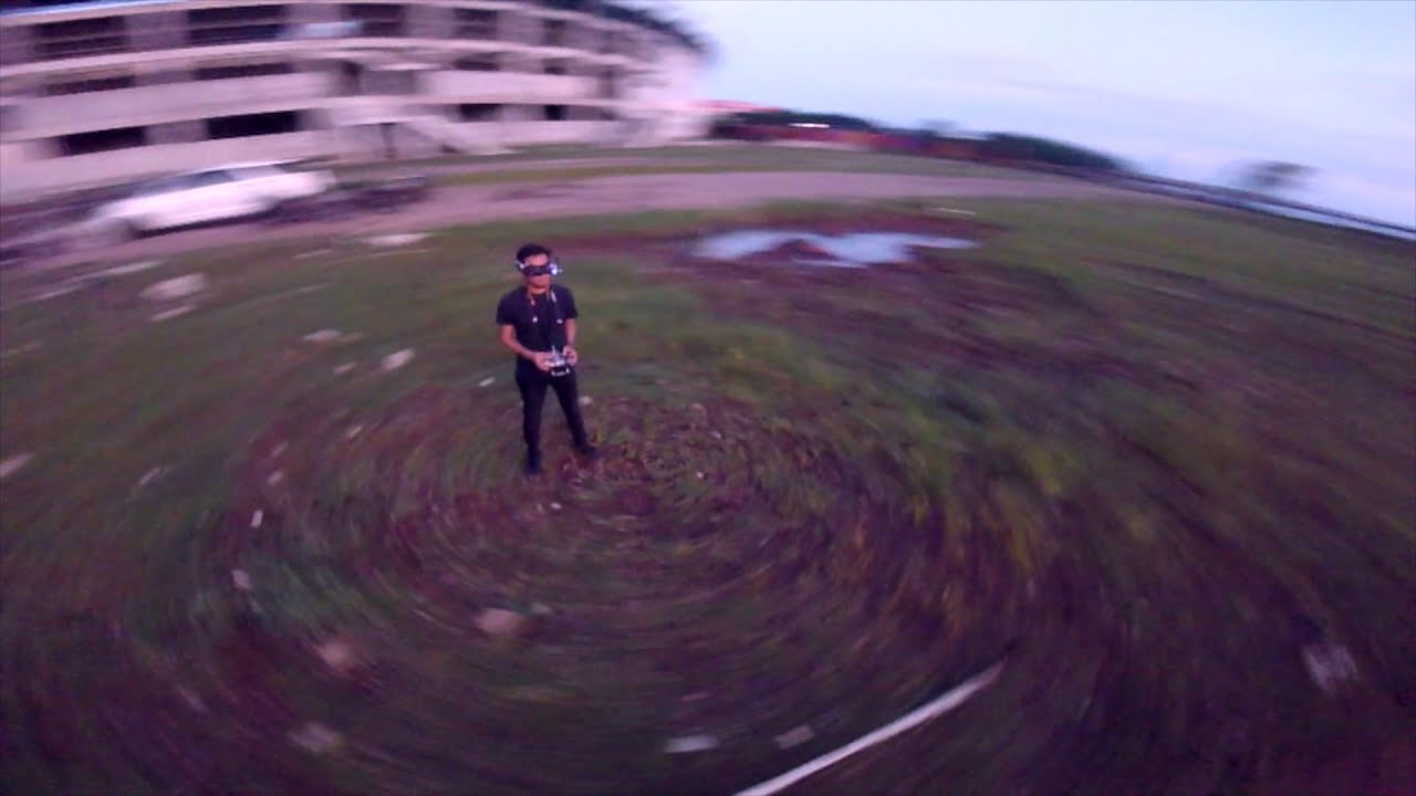 FPV Freestyle Sunset Ripping but too much ND Filter фото