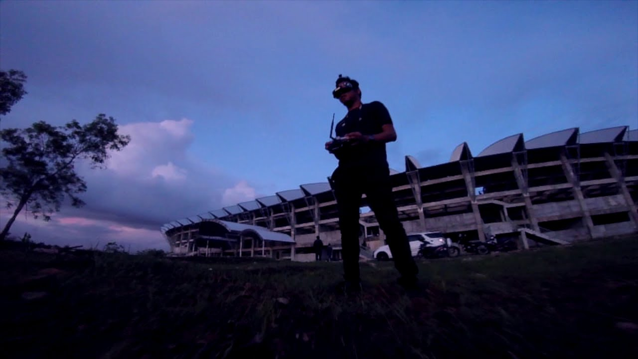 FPV Freestyle Sunset Ripping but too much ND Filter фотки