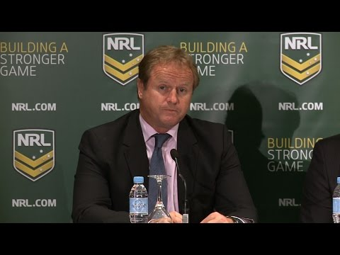 2015 NRL AGM Press Conference