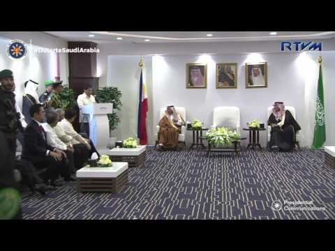 Meeting with Philippines-Riyadh Chamber of Commerce 4/12/2017