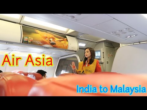 India To Malaysia In Just 1900 ₹ | Air Asia Complete Tour | Cheapest Airline.