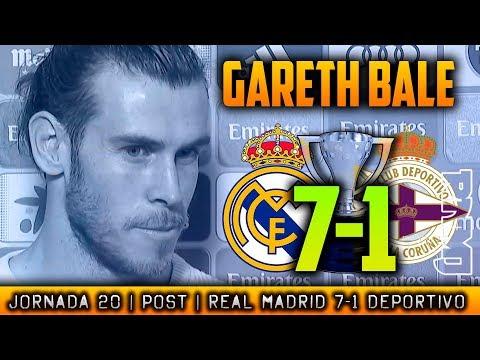 Declaraciones de GARETH BALE post Real Madrid 7-1 Deportivo (21/01/2018) | LIGA JORNADA 20