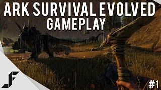 Ark Survival Evolved Gameplay - Episode 1