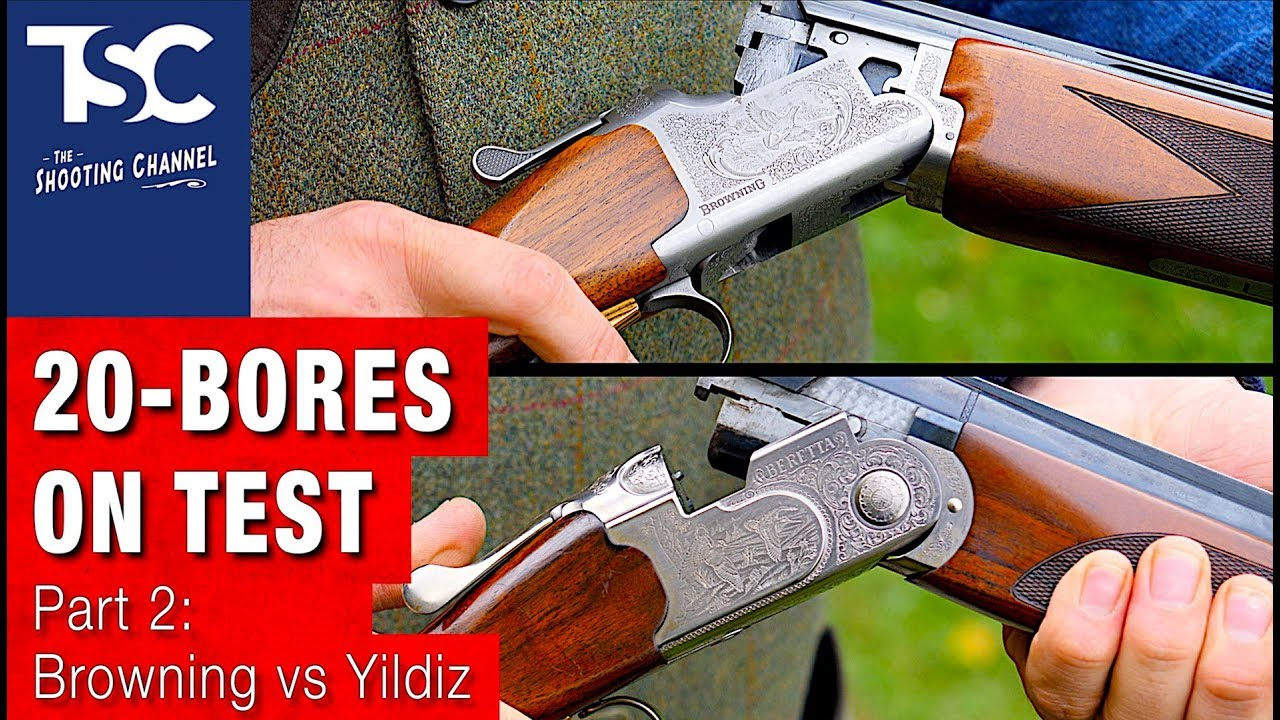 On test: Browning & Yildiz 20 bores