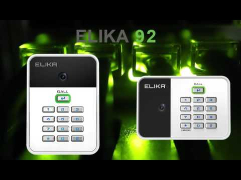 Elika 92 Wireless Access Control With Audio & Video Camera