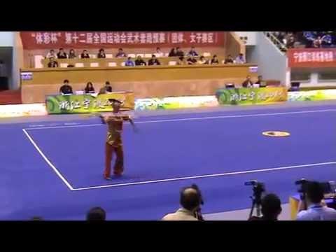 Women's JIanshu   All China Games Wushu Qualifiers, Ningbo