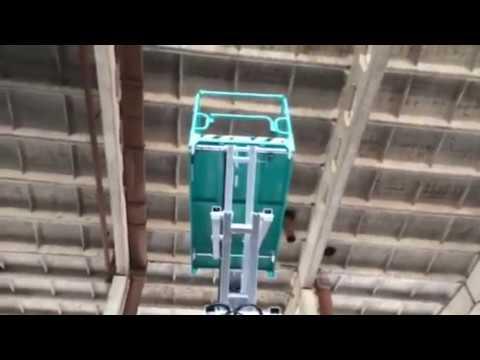 Самоходный ножничный подъемник IMER Iteco высотой 9 метров