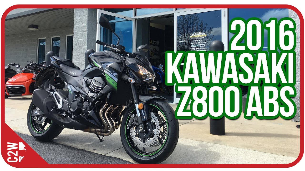 2016 Kawasaki Z800 Abs First Ride Youtube