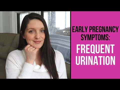 Frequent Urination Early Pregnancy: Early Pregnancy Symptoms
