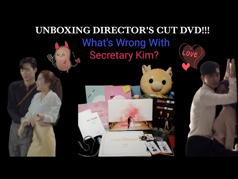 Unboxing My What's Wrong With Secretary Kim? Director's Cut DVD