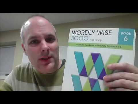 Wordly Wise 6 Lesson 1 English Academic Vocabulary