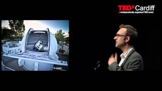 Intelligent robots and the story of light | Edward Gomez | TEDxCardiff