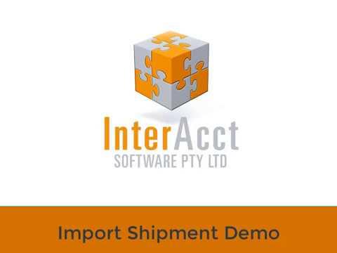 Import Shipment - Detailed