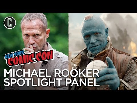 Michael Rooker Spotlight Panel  NYCC 2017
