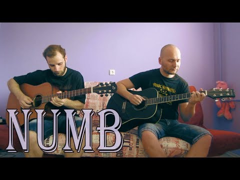 Linkin Park - Numb (acoustic guitar cover, tabs) - YouTube