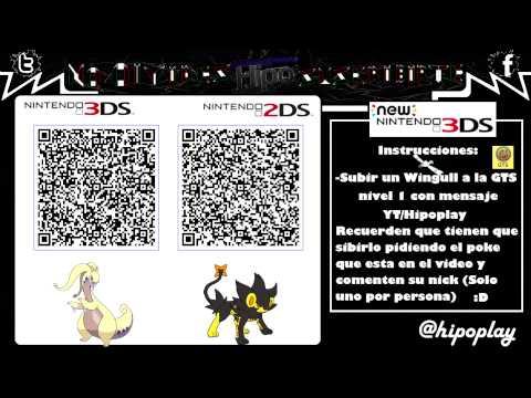 Terminado Code Qr Goodra Amp Luxray Shinys Competitivos Pokemon Xy Oras Youtube